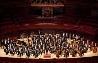 Orchestra in Verizon Hall